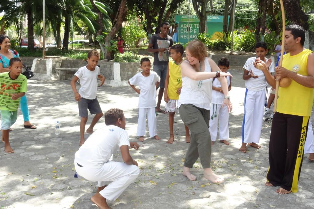 Christina Irene capoeira dance