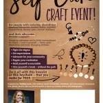 self care craft event -customizable box