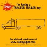tractor trailer meme